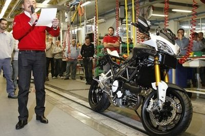 First Ducati Multistrada 1200 Rolls Off the Assembly Line