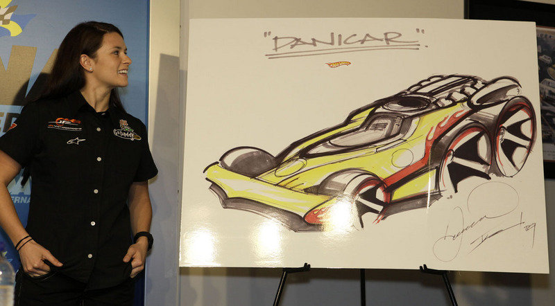 Hot Wheels to sponsor Danica Patrick in NASCAR