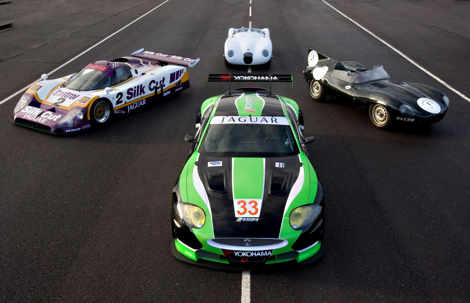 Jaguar Returns To Le Mans With The RSR XKR GT2 Gallery ...