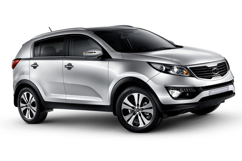 Kia releases first official photos of the 2011 Sportage