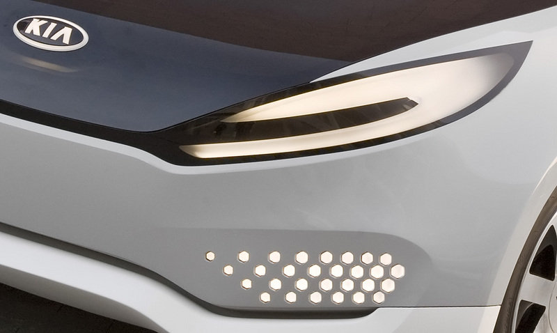 Kia releases second teaser image of the 2010 Ray Plug-In Hybrid concept