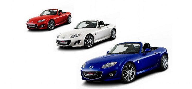 2010 Mazda MX-5 20th Anniversary Edition