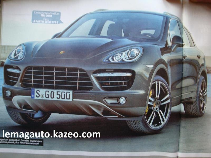 New leaked images of 2011 Porsche Cayenne