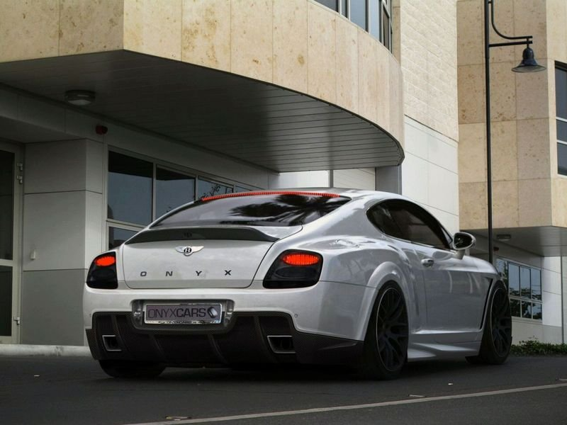 ONYX Bentley Continental Platinium GTO High Resolution Exterior - image 346642