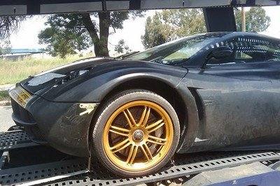Pagani C9 caught on camera again!