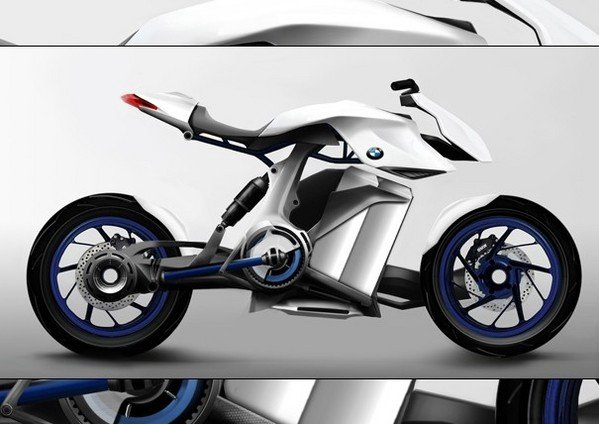 plausible bmw fuel cell motorcycle concept w video news top speed. Black Bedroom Furniture Sets. Home Design Ideas