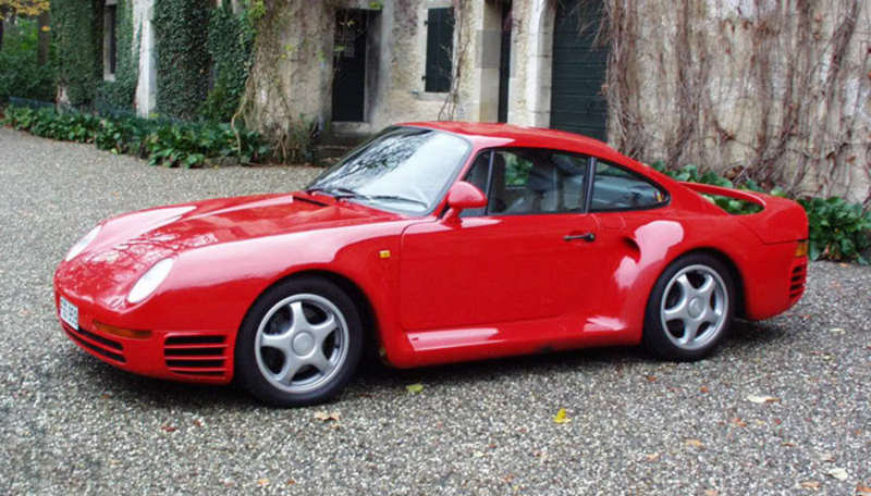Porsche 959 Komfort Goes Up For Auction The New York Times