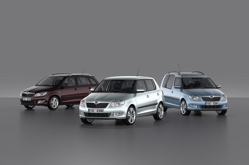 Skoda Fabia and Roomster Facelift coming to Geneva
