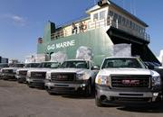 The GM Foundation sends relief to Haiti in the form of 30 Sierra pick up trucks - image 347395