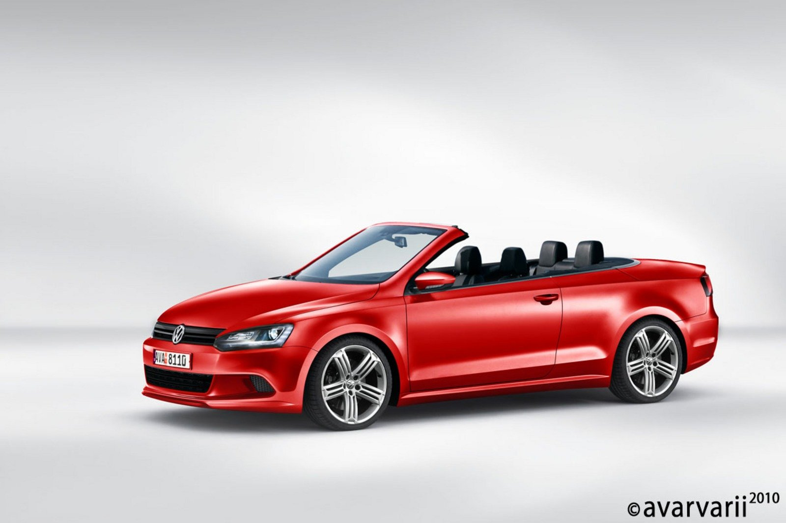 new facelift 2011 vw eos rendered news top speed. Black Bedroom Furniture Sets. Home Design Ideas