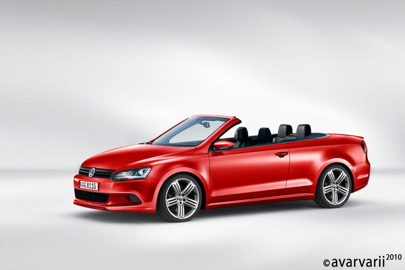 New facelift 2011 VW Eos rendered