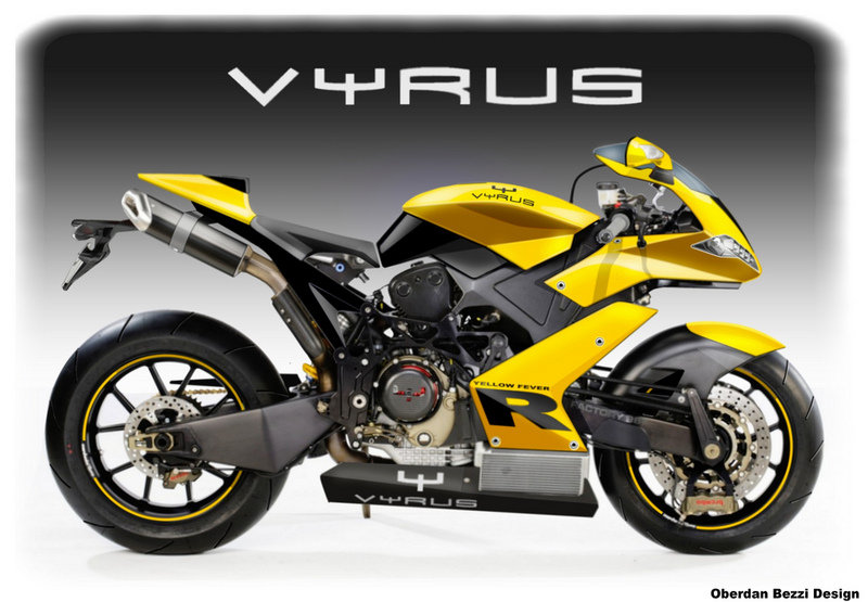 Vyrus Superbike and Yellow Fever by Oberdan Bezzi