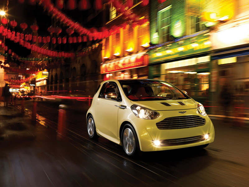 2011 Aston Martin Cygnet High Resolution Exterior Wallpaper quality - image 351456