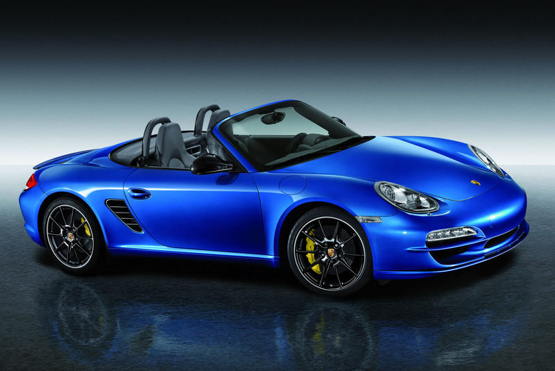 2010 Porsche Boxster and Cayman Design and Design Sport packages