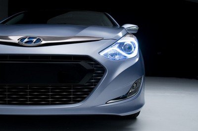 2011 Hyundai Sonata Hybrid first teaser revealed