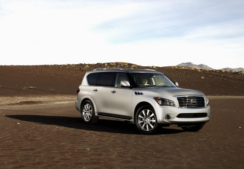 2011 Infiniti QX56 High Resolution Exterior Wallpaper quality - image 355732