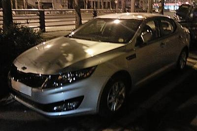 2011 Kia Optima spotted in the streets of Korea