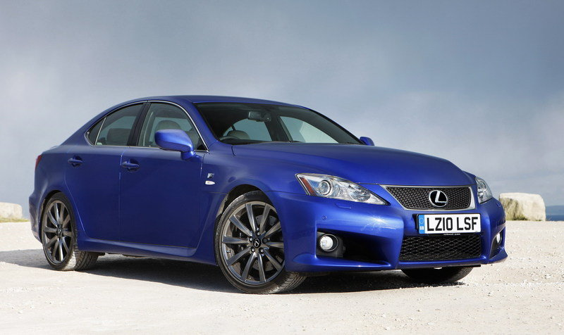 2011 Lexus IS-F High Resolution Exterior - image 354480
