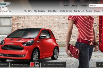 Aston Martin launches wallpaper configurator for the Cygnet