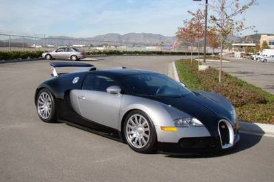 Bugatti Veyron being sold on eBay for less than $1 million