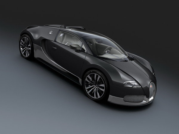 bugatti veyron grand sport grey carbon picture