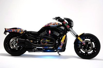 Funky Harley-Davidson Night Road Special