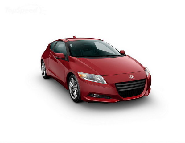 honda cr-z already has 7 000 orders in japan picture