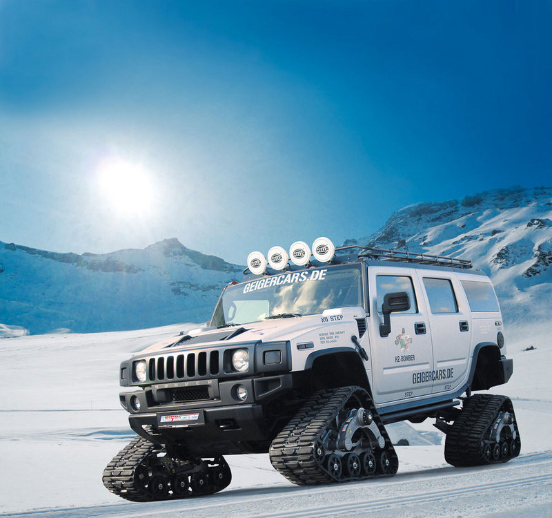 Hummer H2 Bomber by Geiger Cars