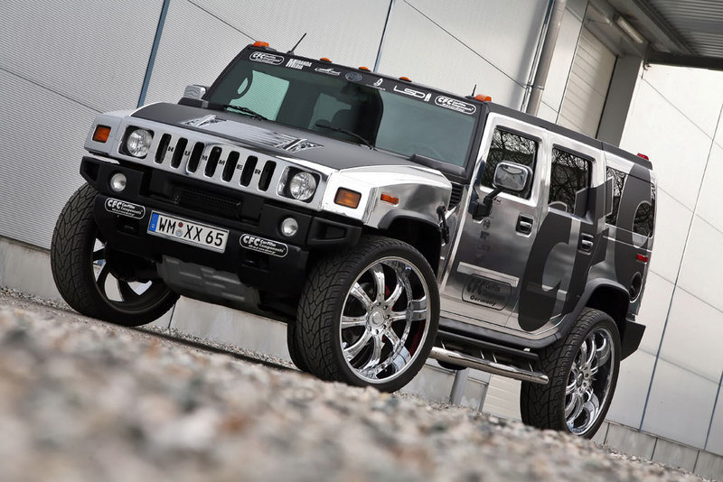 Hummer H2 by CFC wallpaper