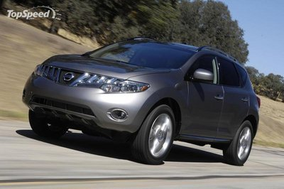 Nissan to build Murano SUVs in Russia beginning in 2011