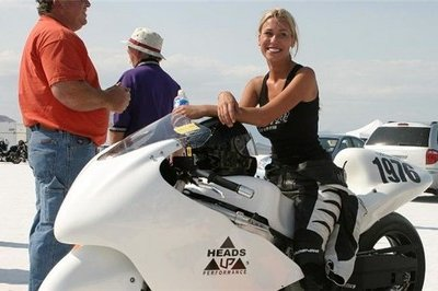 Officially official: Leslie Porterfield is world's fastest woman on a motorcycle