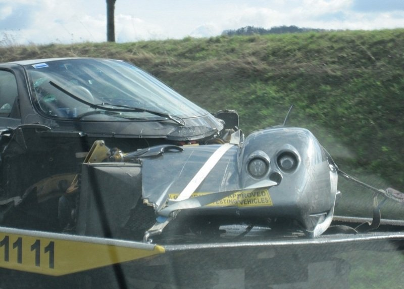 Pagani C9 Test Mule crashes