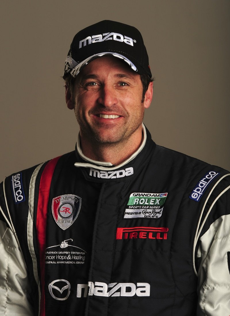 Patrick Dempsey to race in Mazda3 at the Long Beach Grand Prix