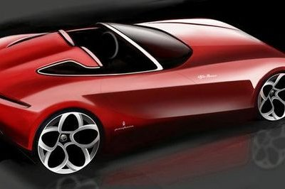 Pininfarina releases new teaser sketch for proposed Alfa Romeo concept