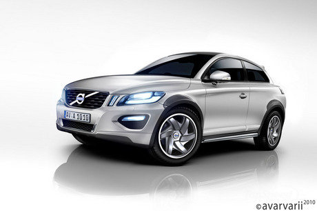 volvo xc30 to arrive in 2012 picture