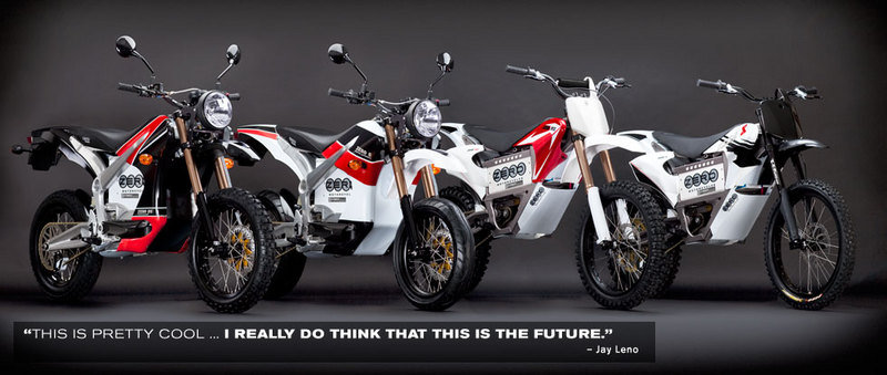 2010 Zero Motorcycles Product Lineup