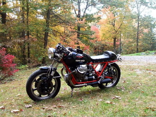1973 Moto Guzzi 850 T3 Caf 233 Racer From Crap To Splendid