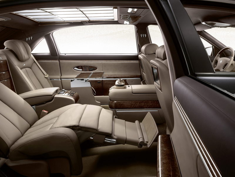 2011 Maybach 57 and 62 Facelift