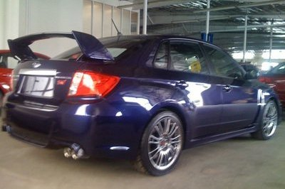 2011 Subaru WRX STi Sedan caught in the wild