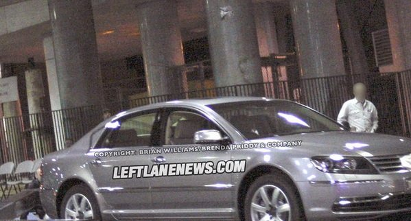 2011 volkswagen phaeton caught testing picture