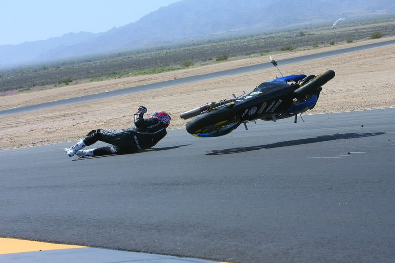 Track day gone wrong: anatomy of a highside
