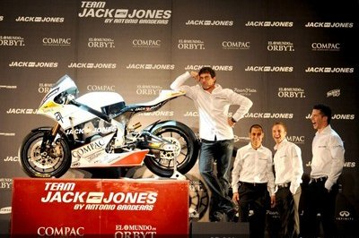 Antonio Banderas gets himself a Moto2 team