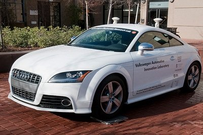 Audi TTS to make Pike Peaks International Hill Climb...without a driver