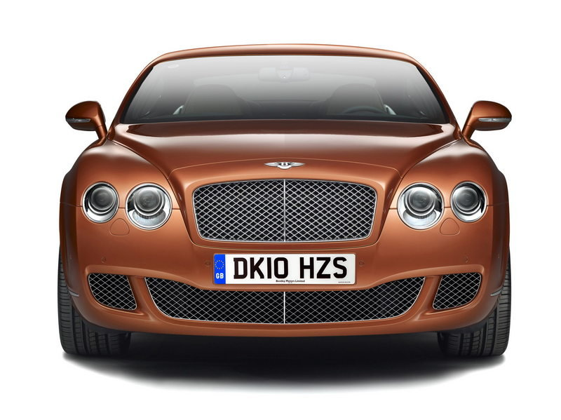 2010 Bentley Continental GT Design Series China High Resolution Exterior - image 359072