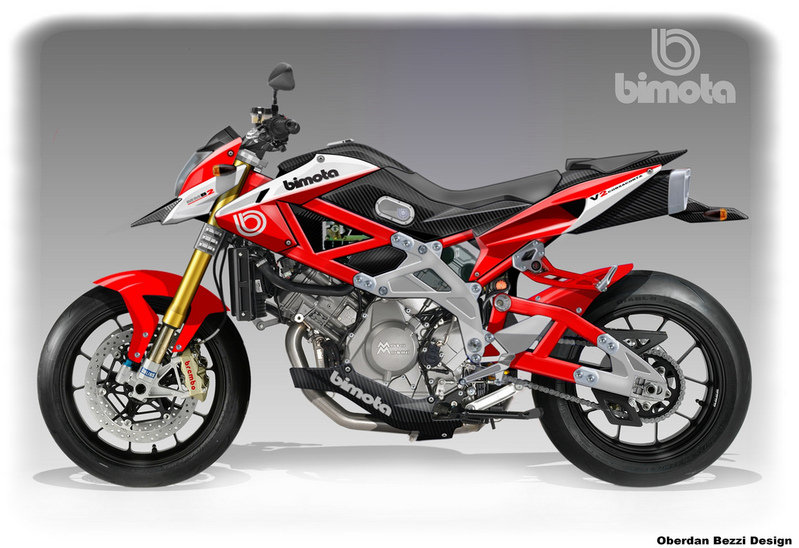 Bimota Moto Morini MMB-2 FighterMotard by Oberdan Bezzi