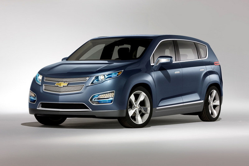 2010 Chevrolet Volt MPV5 Electric Concept