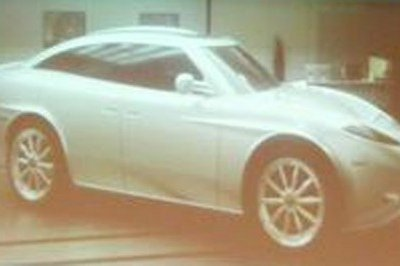 Clay model of Spyker SUV caught undisguised