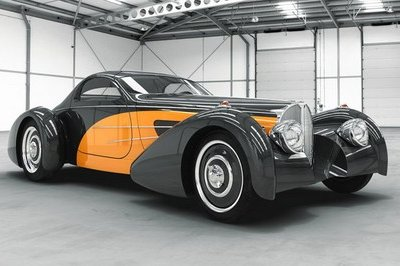Delahaye Bugnotti Coupe to be revealed at the Concours d'Elegance