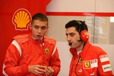 Ferrari still wants Valentino Rossi to drive in Formula One