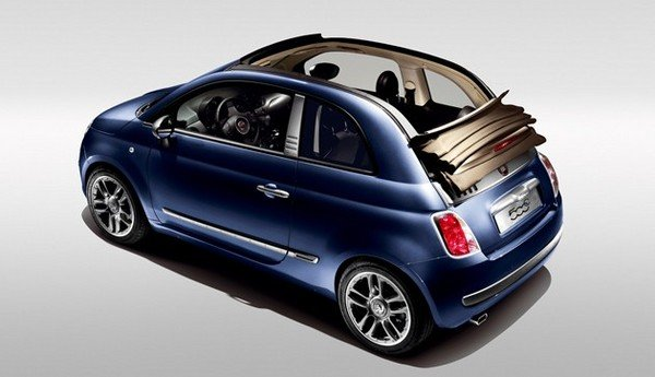 fiat 500 cabrio by diesel news top speed. Black Bedroom Furniture Sets. Home Design Ideas